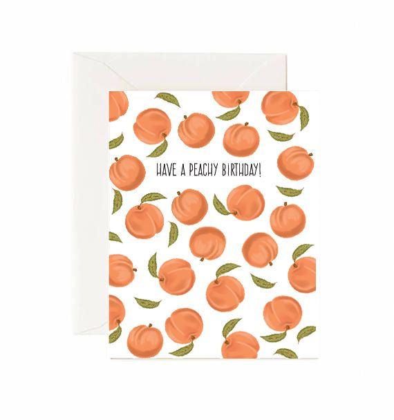 Have a Peachy Birthday