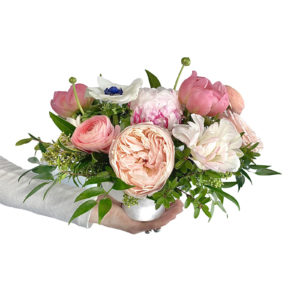 Mother's Day Vibrant Flower Vase Arrangement